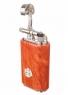Зажигалка трубочная Mastro de Paja, серебро и бриар