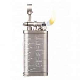 Зажигалка трубочная Passatore с тампером, никель матовый