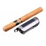 Зажигалка сигарная Passatore с пробойником, оружейная сталь