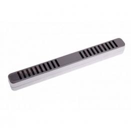 Увлажнитель акриловый Passatore на 10-15 сигар, серебристый