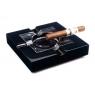 Пепельница Howard Miller на 4 сигары, Черный лак (810-081)