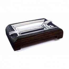 Пепельница для сигар (930-Croco-Black-Ebony)