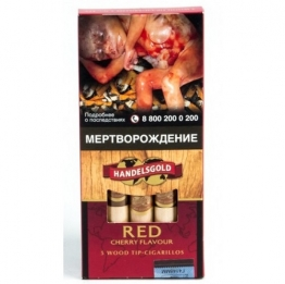 Handelsgold Cherry Wood Tip Red