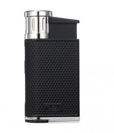 Зажигалка сигарная Colibri Evo, черная-хром