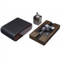 Набор сигарных аксессуаров Gentili на 15 сигар (SET-SV10-Black)