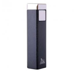 Зажигалка Lubinski «Бергамо», пьезо, черный металлик (WC562-3)