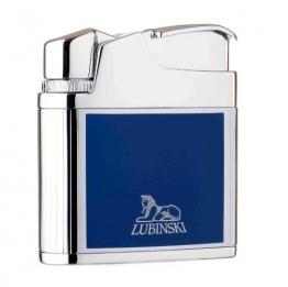Зажигалка Lubinski «Таормина», кремневая, синяя (WD564-4)