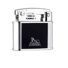 Зажигалка Lubinski «Бассано», кремневая, черная (WD570-3)