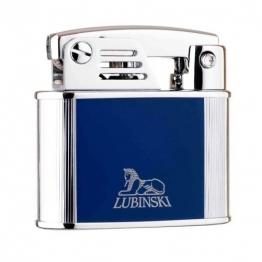 Зажигалка Lubinski «Бассано», кремневая, синяя (WD570-4)