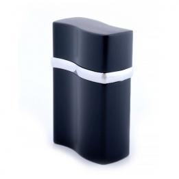 Зажигалка настольная Tycoon (турбо + пьезо), металл